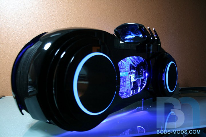Awesome Casemod Bods Mods Tron Lightcycle Pc Shouts