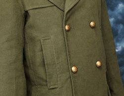 Doctor Who 11th Doctor's Green Jacket Detail