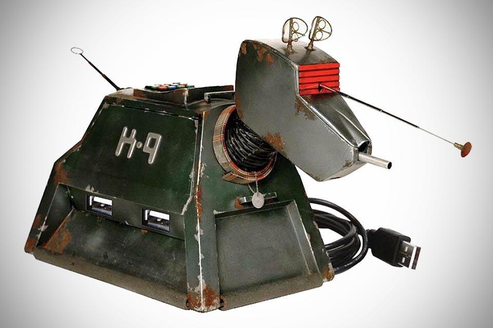 Doctor Who K-9 4-Port USB Hub