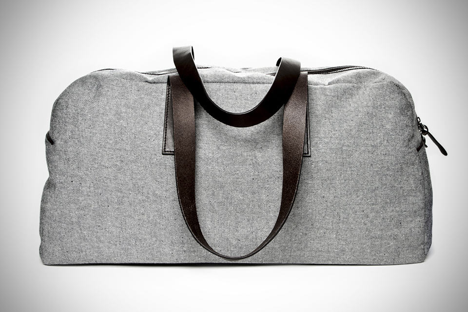 Everlane Reverse Denim Bags Weekender