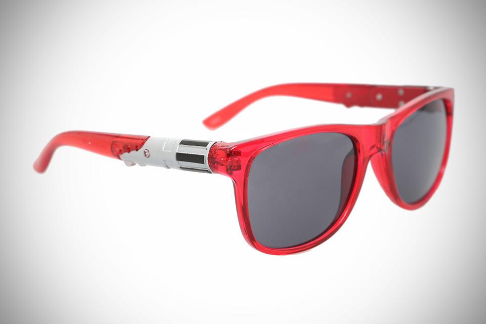 Star Wars Red Light-Up Sunglasses