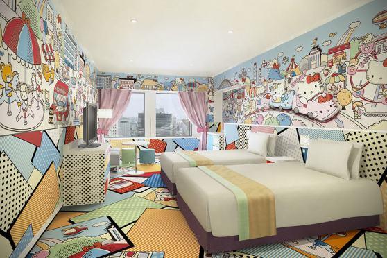 Keio Plaza Hotel Hello Kitty Rooms