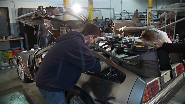 Out of Time: Saving the DeLorean Time Machine Documentary