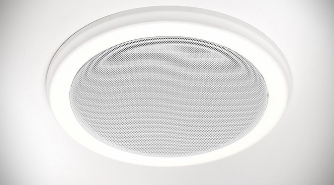 bluetooth speakers and led light