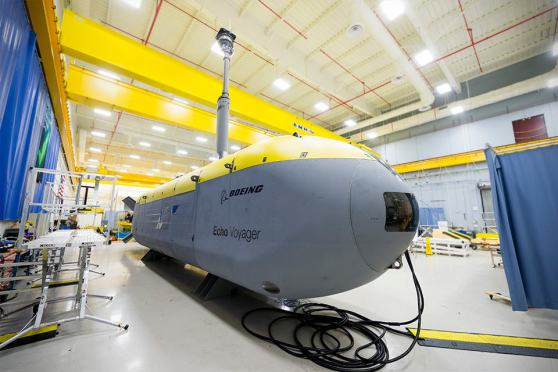 Boeing Echo Voyager Unmanned Sea Vehicles