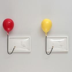 half empty half full cmyk balloons