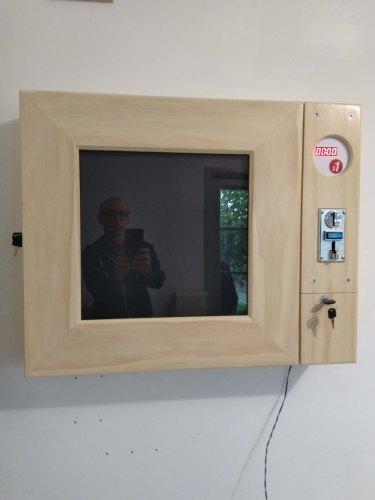 No More Free Art - protoytpe wall display unit 2019  60 x 60cm