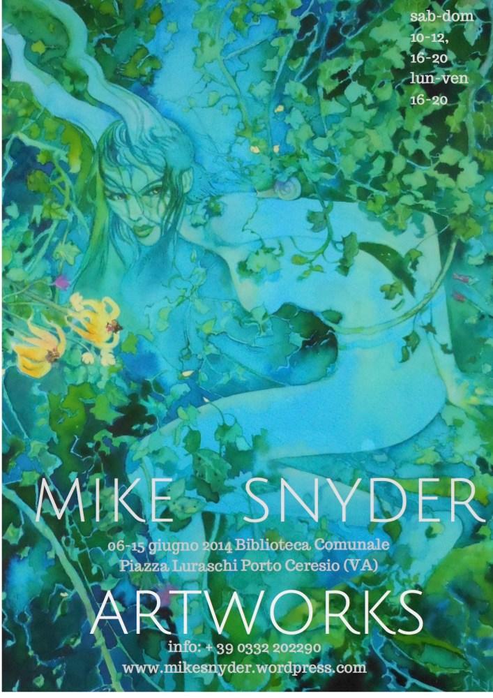 Mike Snyder Artworks 2014, da venerdì 6 a domenica 15 giugno 2014, Biblioteca Comunale, Porto Ceresio