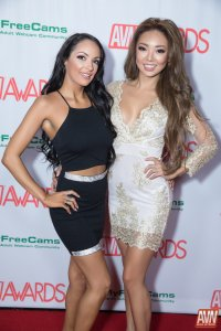 Congrats to Sofi Ryan and Ayumi Anime for being named this year's AVN Trophy Girls!