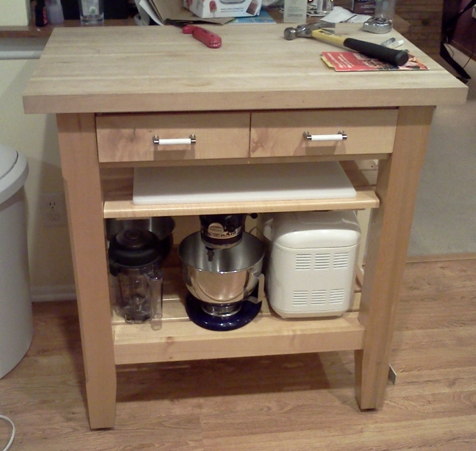 Converting A Dresser Into A Kitchen Island Part 1 Mikes Random Ramblings