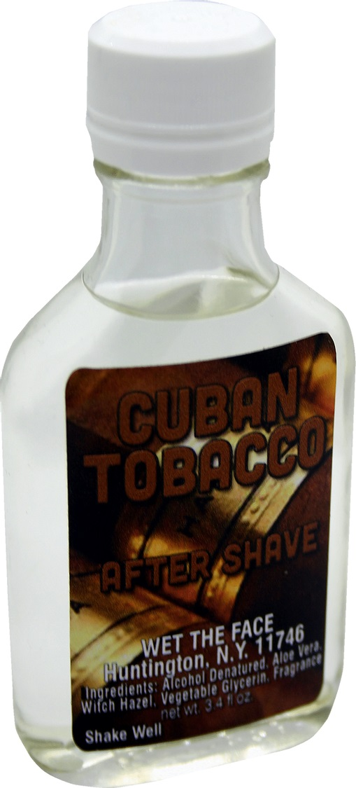 Wet The Face Cuban Tobacco aftershave