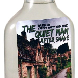 Wet The Face The Quiet Man aftershave