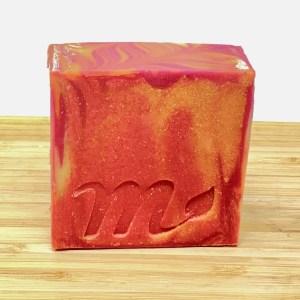 Blood Orange & Goji Berry soap