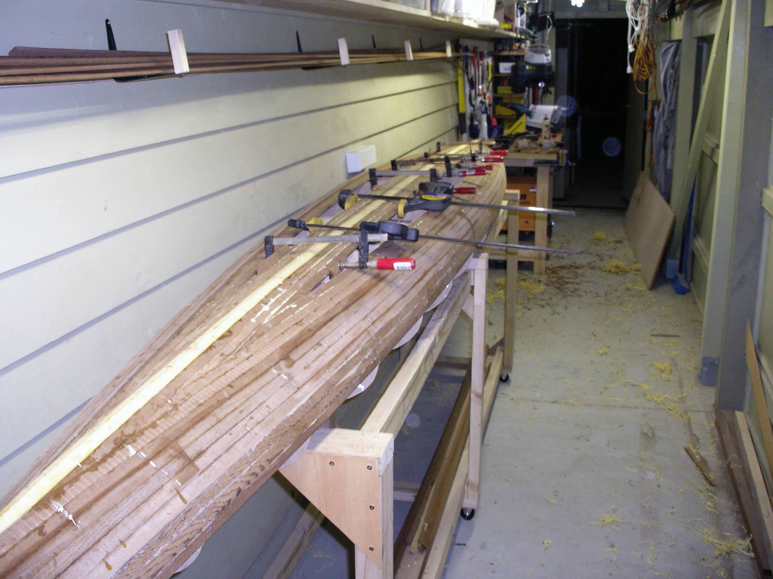 Stripping the hull