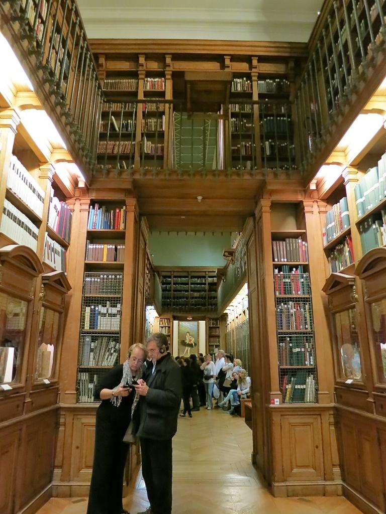 Library Museum Palais Garnier Paris France
