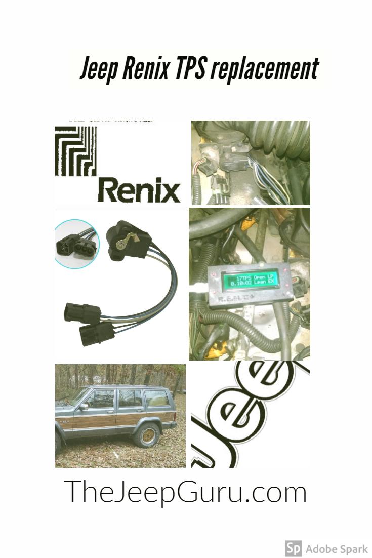 Replacing a Renix TPS   The Jeep Guru