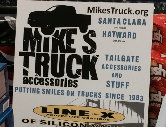 Mike's Truck at Safeway Tail Gate Display