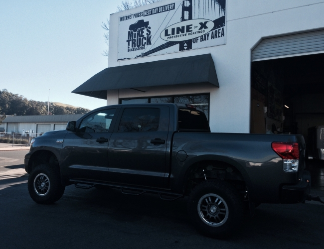 Toyota Lift at Mike's Truck & LINE-X of Bay Area
