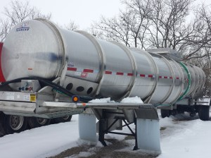 Tanker at Mike's Trucking