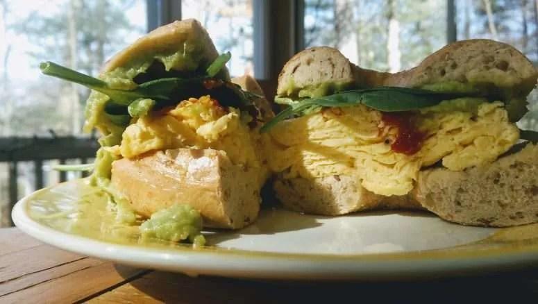 Blue Moon Egg Sandwich