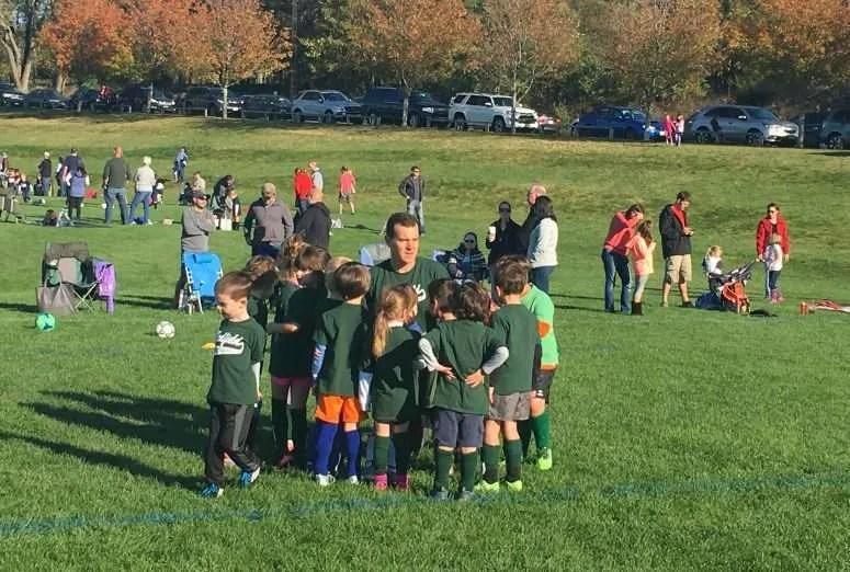 coaching U6 pee-wee soccer