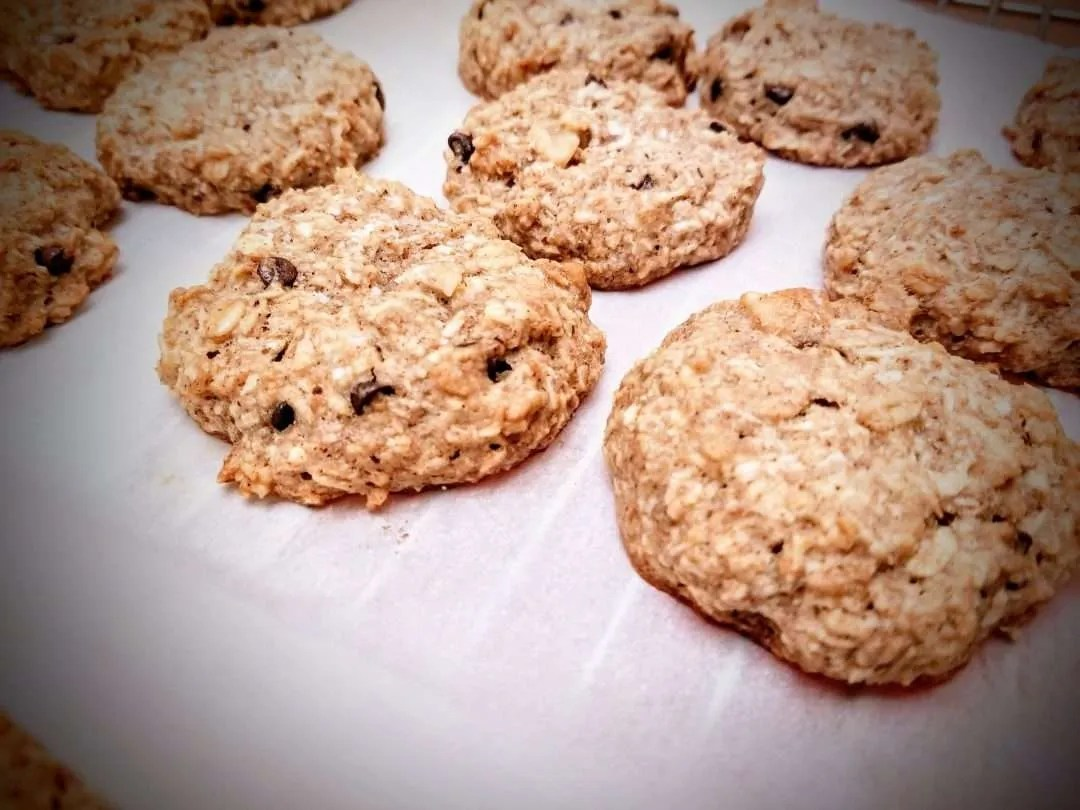 Run Fast, Eat Slow: Banana Coconut Cookies