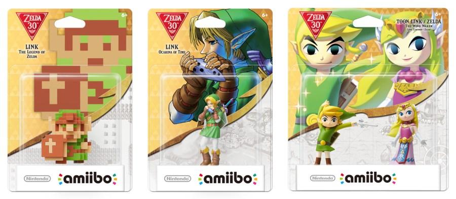 Resultado de imaxes para Zelda 30th amiibo