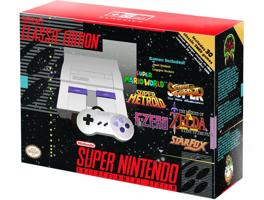 Snes Classic Mini To Come This Christmas Says Eurogamer S Sources