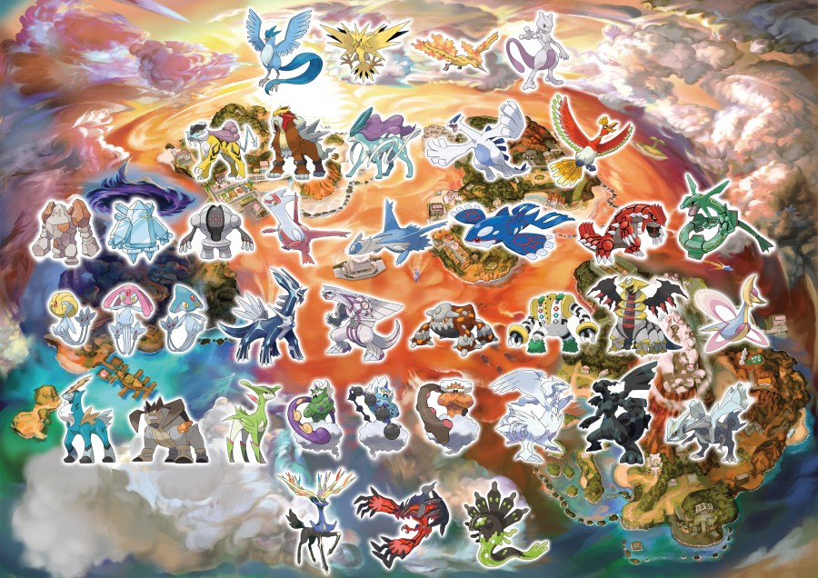 USUM_Map_Legendary_Pokemon