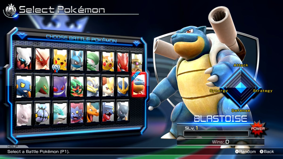 [Patch Notes] Pokkén Tournament DX Version 1.3.0 for Nintendo Switch (Blastoise has Come to Play)