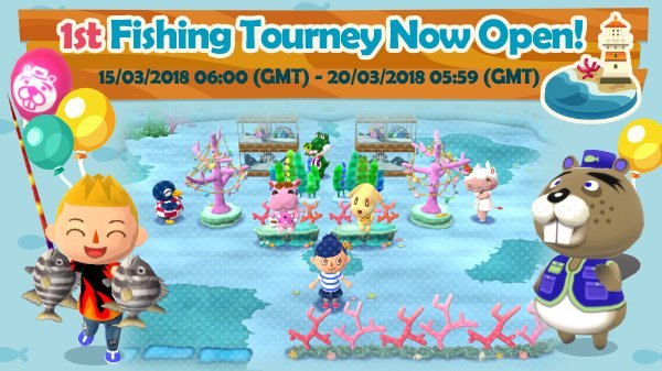 [Guide] Animal Crossing: Pocket Camp – Fishing Tourney #1 (What is It? & How to Play!)