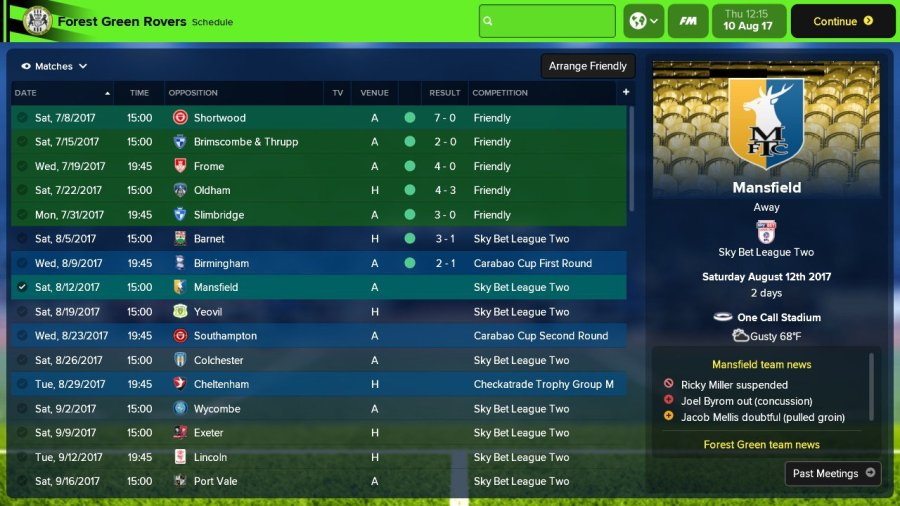 Nintendo Switch] Football Manager 2018 Touch Review