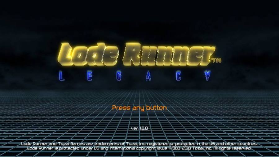 Lode Runner Legacy Review