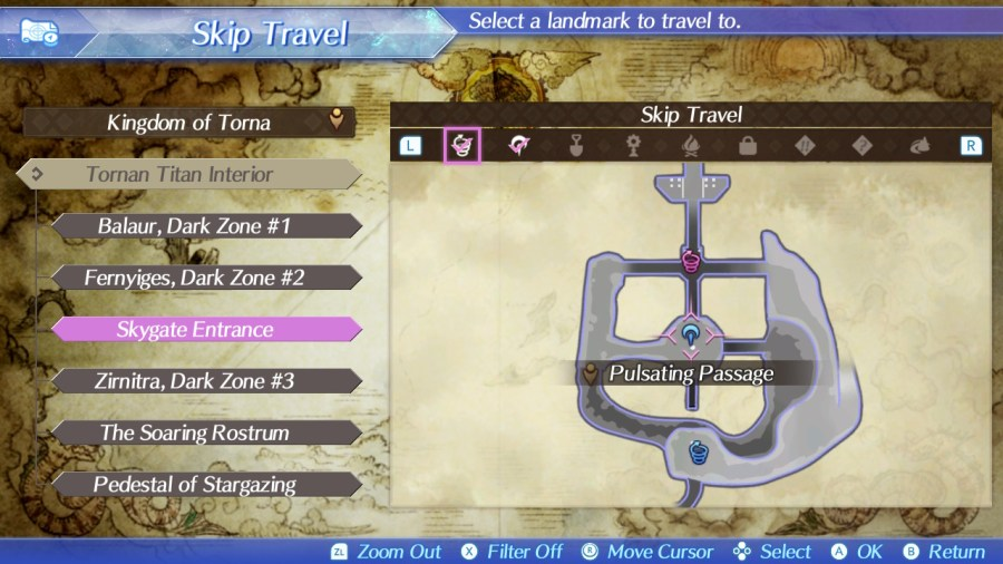 Torna slate locations