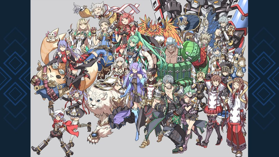 Xenoblade Chronicles 2 Illustrations
