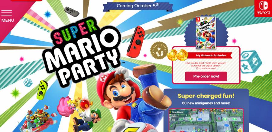 Super Mario Party handheld