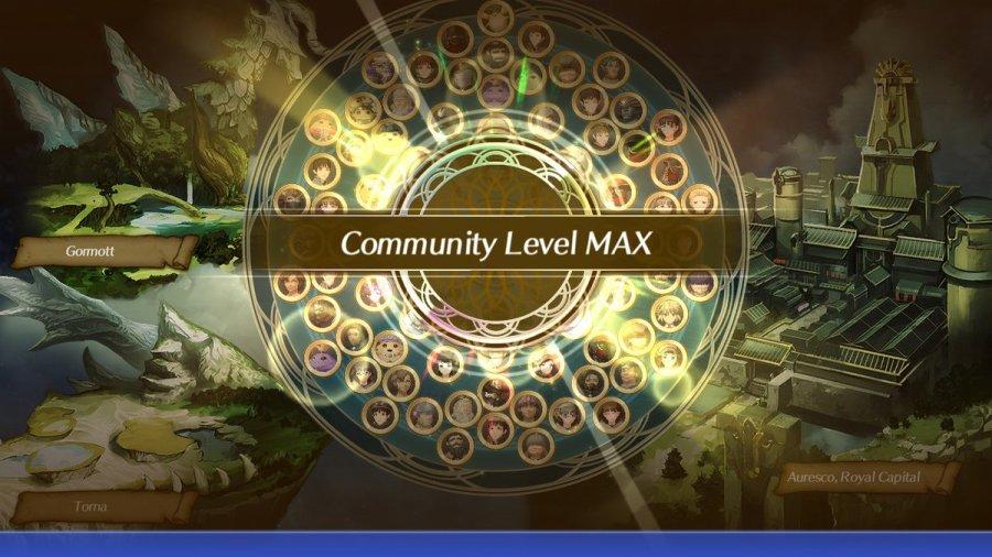 Community Level Max unlock