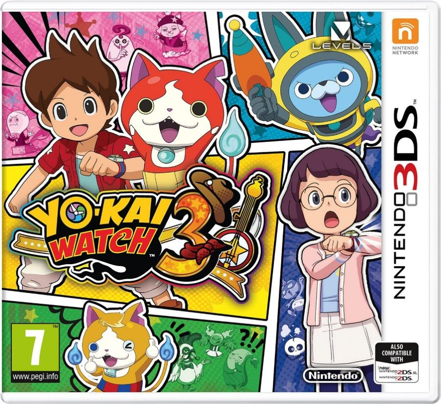 Yo-kai Watch 3 box art Yo-kai Watch 3 details