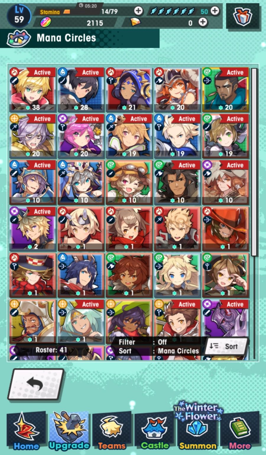 Dragalia Lost mana circles guide