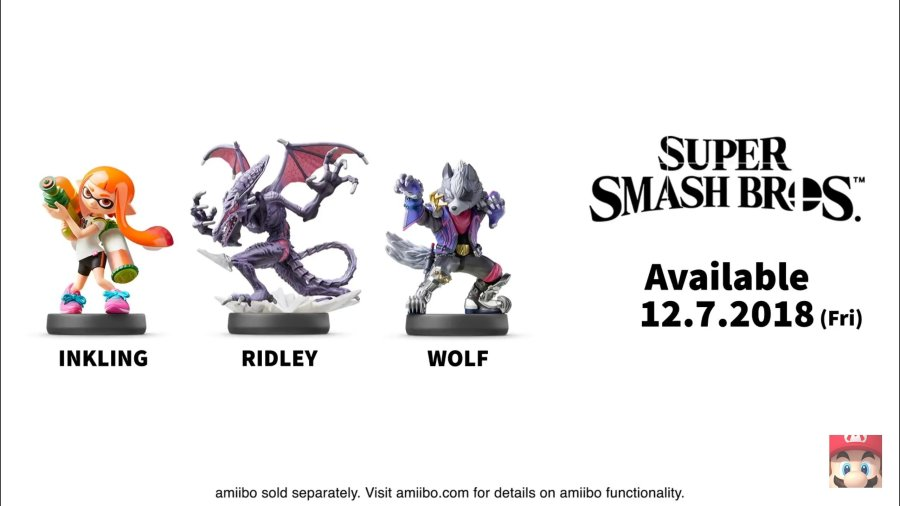 Super Smash Bros. Ultimate amiibo Release Dates
