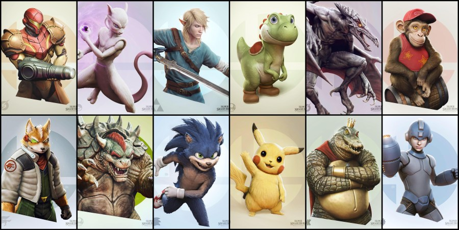 Smash Bros Remastered