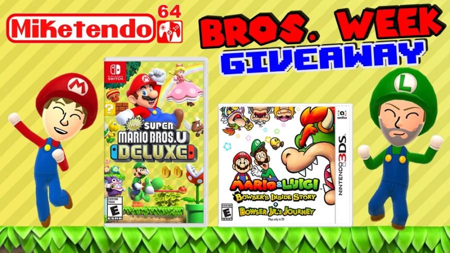 Super Mario Bros U Deluxe Giveaway
