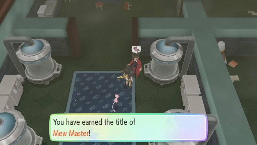 Mew Master guide