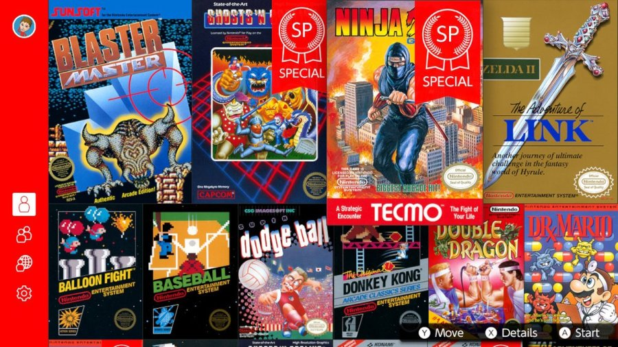 NES January 2019 games
