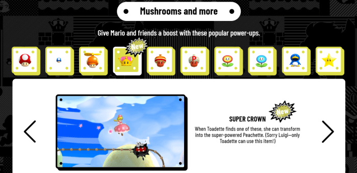 Guide An Introduction To The Power Ups Of New Super Mario Bros U
