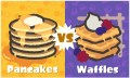 Waffles Vs. Pancakes Splatfest