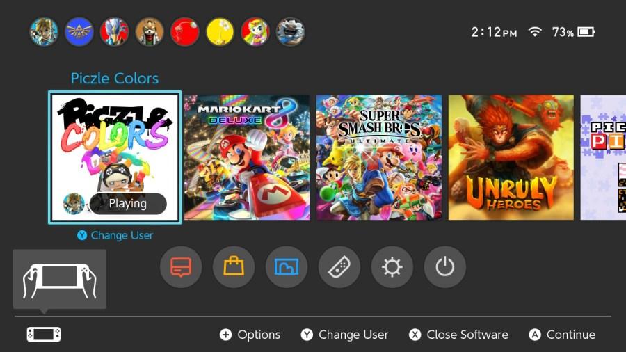 Piczle Colors nintendo switch review