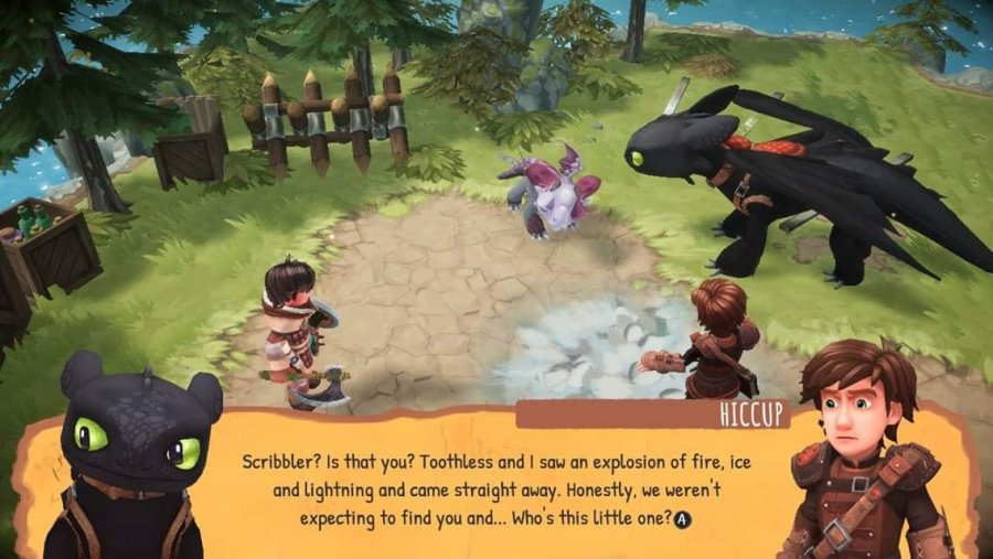 DreamWorks Dragons: Dawn of New Riders nintendo switch review