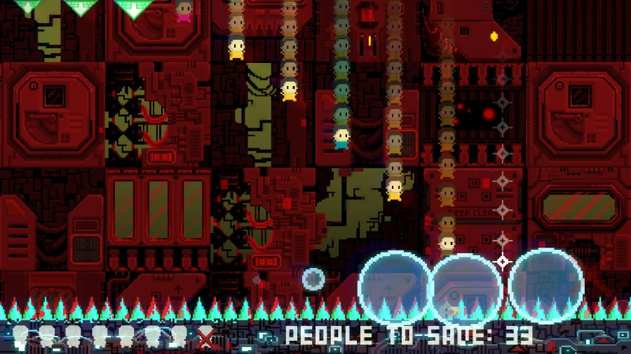 Space Lift Danger Panic! switch review