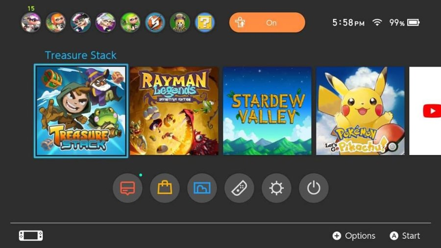 Treasure Stack switch review